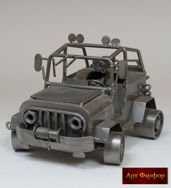 Машинка из металла своими руками 86